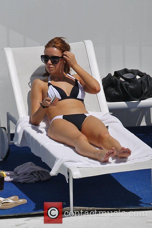 Una Healy of The Saturdays in her bikini...