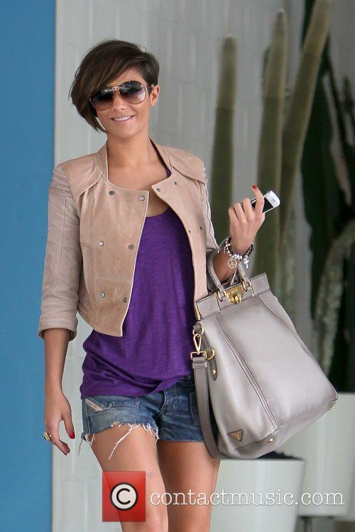 Frankie Sandford The Saturdays arriving at a dance...