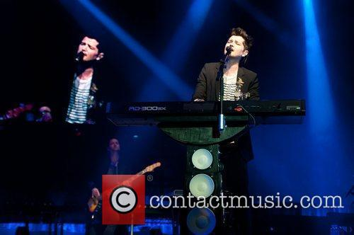 The Script perform live at the Bournemouth International...