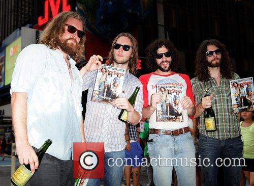 The Sheepdogs win Rolling Stone magazine's first contest...