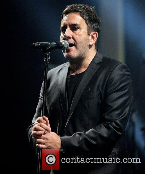 Terry Hall of The Specials performing live on...