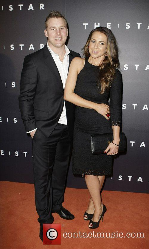 Kate Ritchie and Stuart Webb arrives at the...