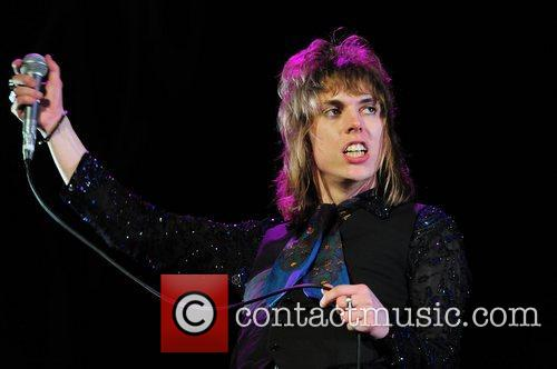 Luke Struts of The Struts performing at the...