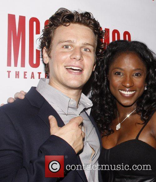 Jonathan Groff and Rutina Wesley Afterparty for the...