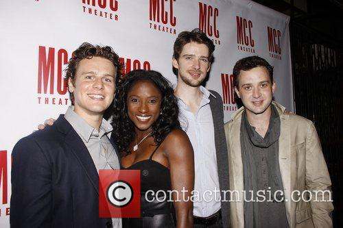Jonathan Groff, Rutina Wesley, Will Rogers and Eddie...