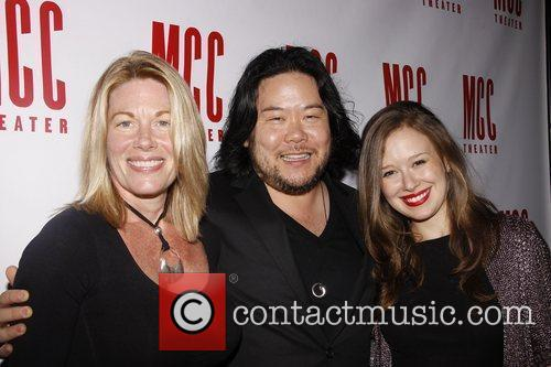 Marin Mazzie, Stafford Arima and Molly Ranson Afterparty...