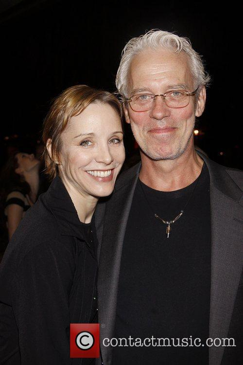 Charlotte d'Amboise and Terrence Mann  World premiere...