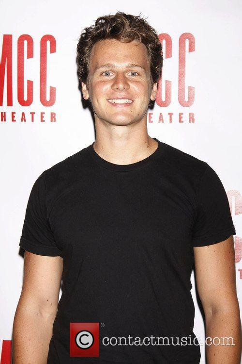 Jonathan Groff Meet and greet with the cast...
