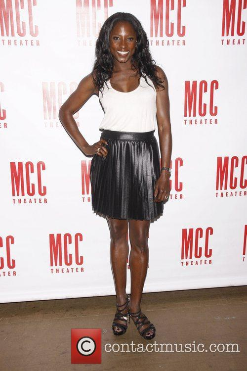 Rutina Wesley Meet and greet with the cast...