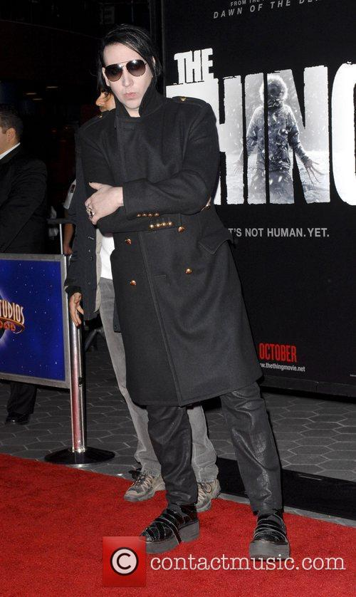 Marilyn Manson 'The Thing' Los Angeles Premiere held...