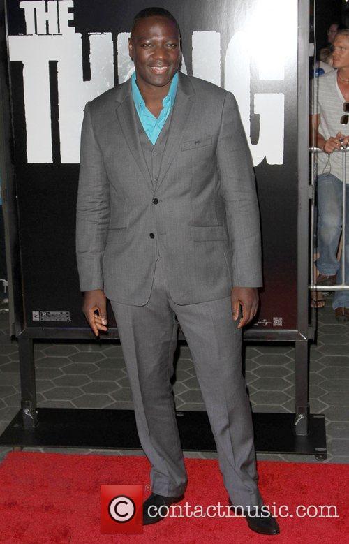 Adewale Akinnuoye-Agbaje 'The Thing' Los Angeles Premiere held...