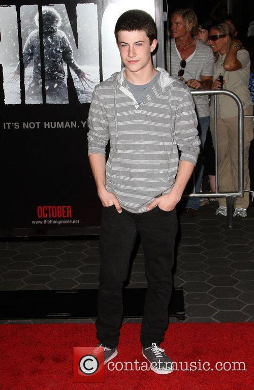 Dylan Minnette 'The Thing' Los Angeles Premiere held...