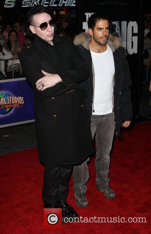 Eli Roth and Marilyn Manson 9