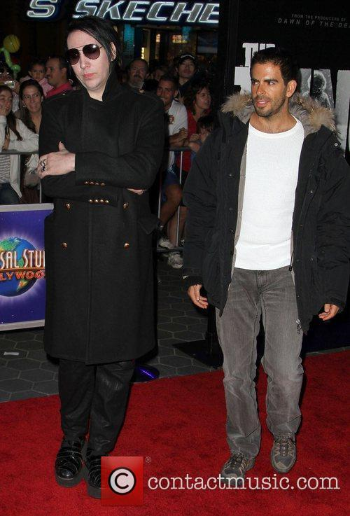 Eli Roth and Marilyn Manson 1