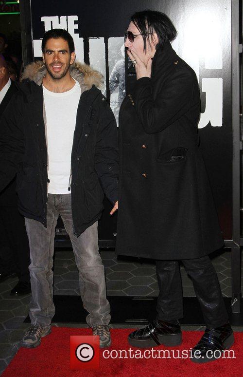 Eli Roth and Marilyn Manson 11