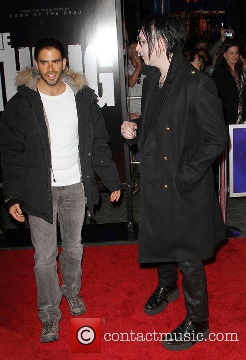 Eli Roth and Marilyn Manson 12