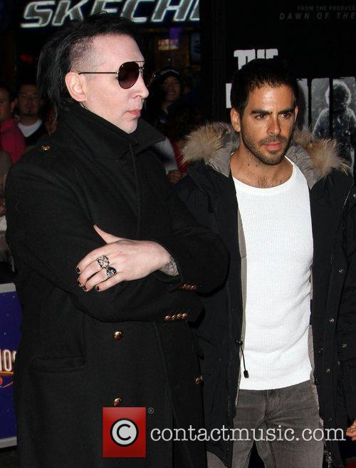 Eli Roth and Marilyn Manson 2