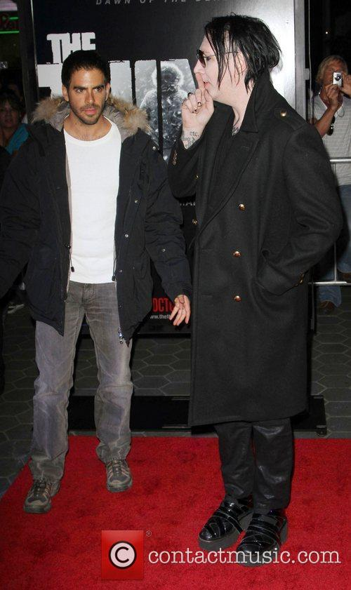 Eli Roth and Marilyn Manson 8