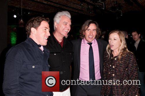 Rob Brydon, David Byrne and Steve Coogan 2