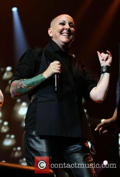 Beverly McClellan 'The Voice' live on tour at...