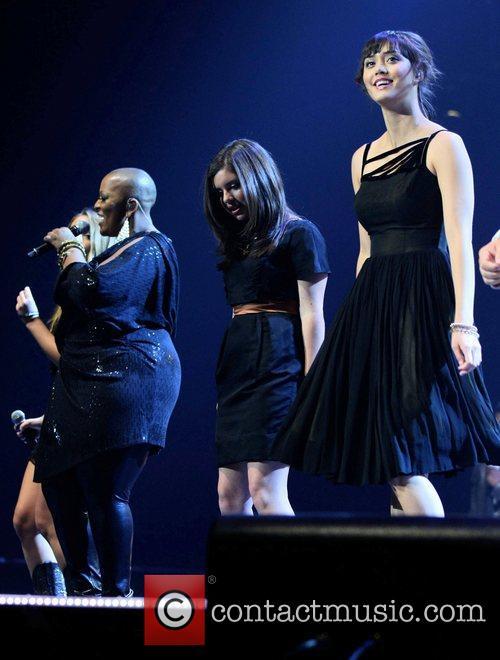 Frenchie Davis, Xenia and Dia Frampton 'The Voice'...
