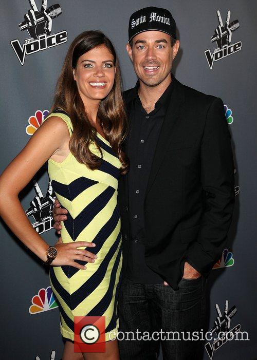 Carson Daly and girlfriend Siri Pinter 'The Voice'...