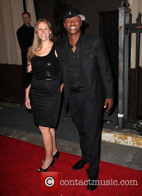 Javier Colon and wife 'The Voice' Live Finale...