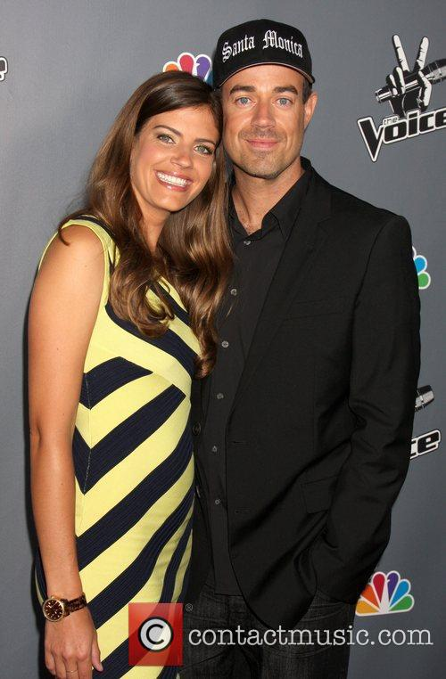 Siri Pinter and Carson Daly  'The Voice'...