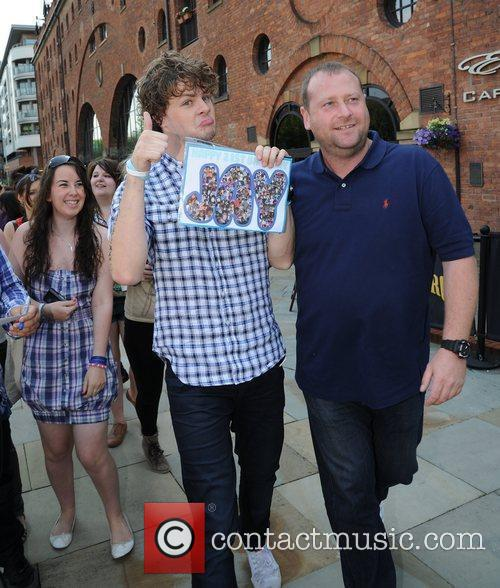 Jay McGuiness The Wanted visit Key 103 radio...