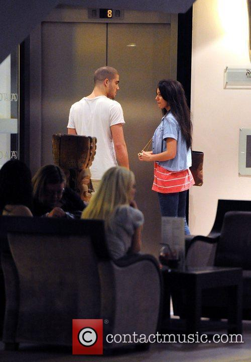 Michelle Keegan and Max George of The Wanted...