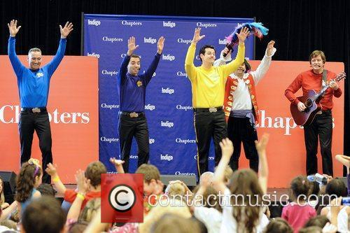 'The Wiggles' performs live at Bayview Village Chapters...