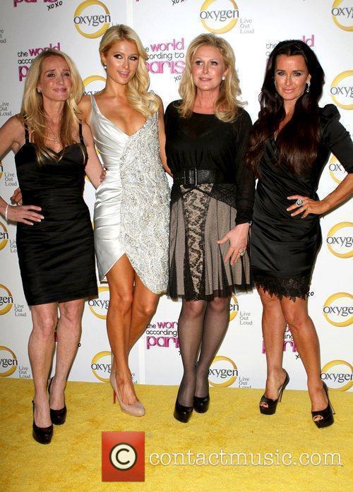 Kim Richards, Paris Hilton, Kathy Hilton and Kyle...