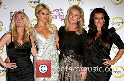 Kim Richards, Kathy Hilton, Kyle Richards and Paris Hilton