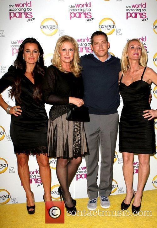Kyle Richards, Kathy Hilton, Cy Waits and Kim...