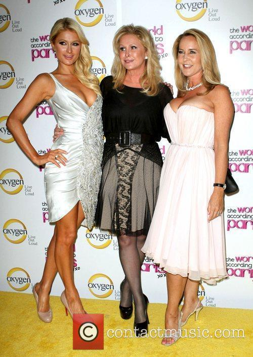 Paris Hilton; Kathy Hilton; Erin Murphy 'The World...
