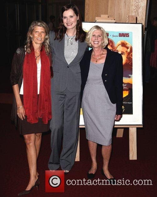 Mimi Polk Gitlin, Callie Khouri and Geena Davis 1