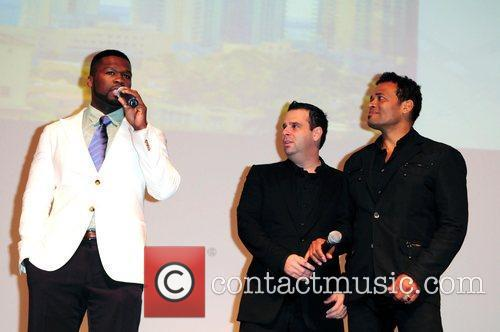 50 Cent, Curtis Jackson, Mario Van Peebles and Randall Emmett 6