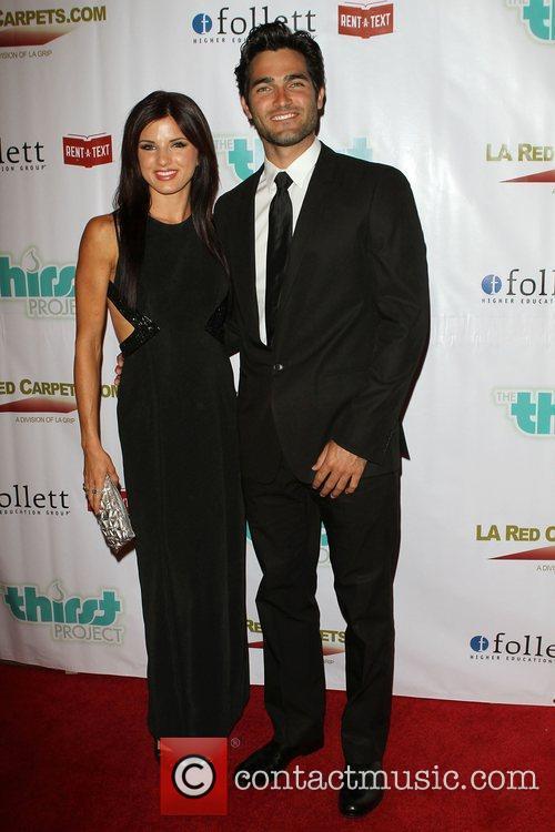 Rachel Brooke Smith (L) and Tyler Hoechlin The...