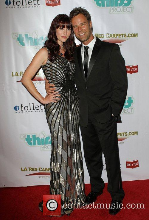 Chyler Leigh (L) and JR Bourne The 2nd...