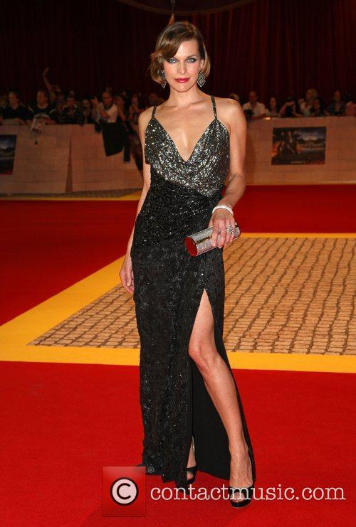 Milla Jovovich 'The Three Musketeers' UK film premiere...