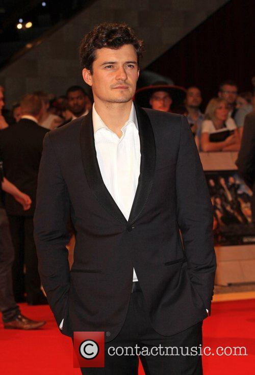 Orlando Bloom 'The Three Musketeers' World film premiere...