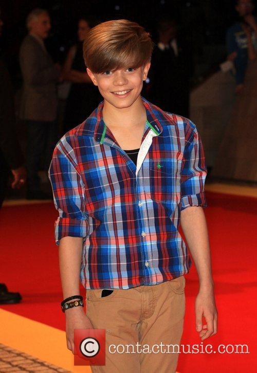 Ronan Parke 'The Three Musketeers' World film premiere...