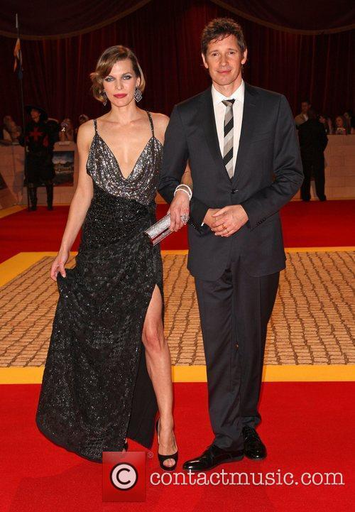 Milla Jovovich and Paul Anderson 1