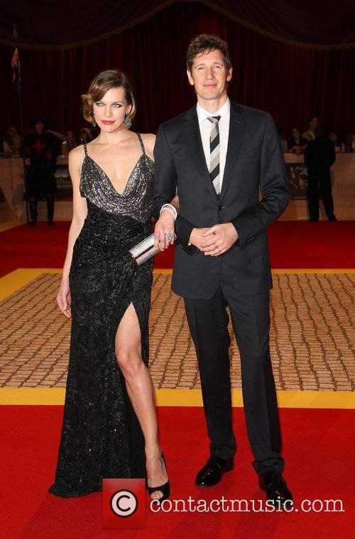 Milla Jovovich and Paul Anderson 11