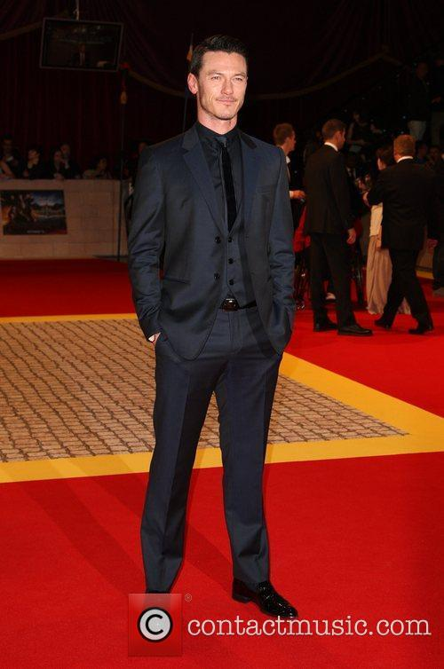 Luke Evans 'The Three Musketeers' World film premiere...