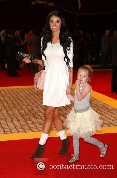 Chloe Sims with her daughter 'The Three Musketeers'...