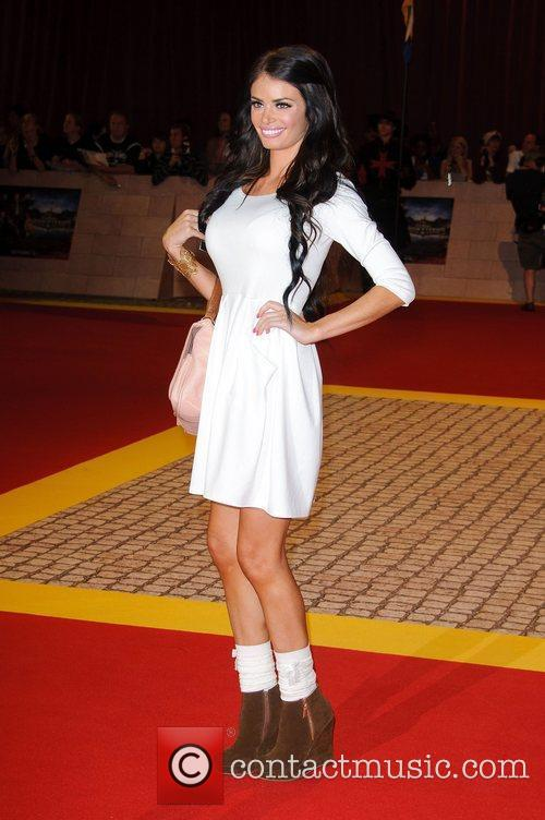 Chloe Sims The World Premiere of 'The Three...