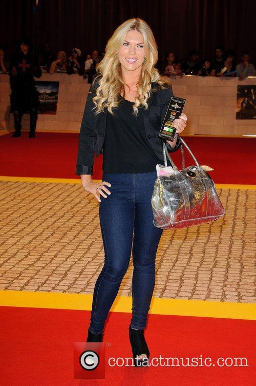 Frankie Essex The World Premiere of 'The Three...