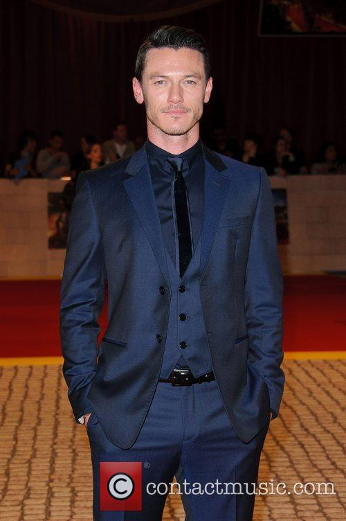 Luke Evans The World Premiere of 'The Three...