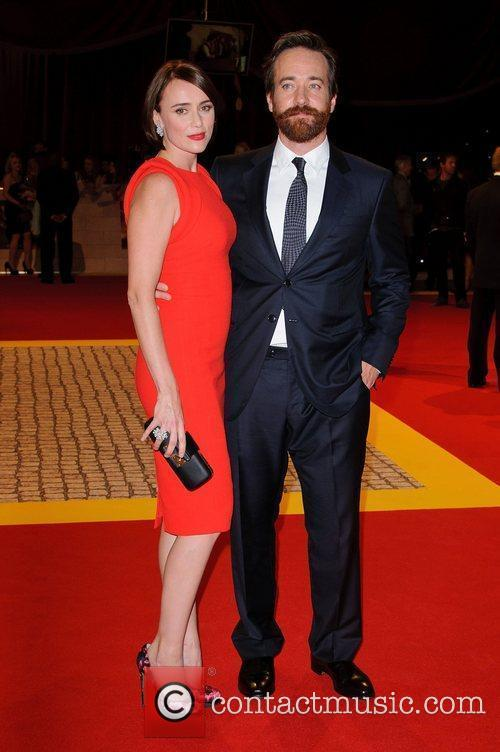Keeley Hawes and Matthew Macfadyen The World Premiere...